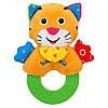 Іграшка з прорізувачем Тигр Baby mix TE-8377E-12T
