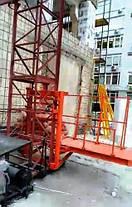Высота подъёма Н-37 метров. Мачтовый грузовой подъёмник-подъёмники для строительных работ  ПМГ г/п 750 кг, фото 2