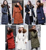 Двусторонняя молодёжная зимняя куртка мех на капюшоне, фото 1