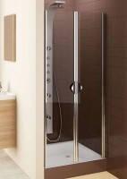 Душевые маятниковые двери Aquaform Glass 5 103-06355