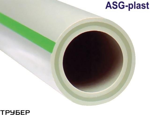 Полипропиленовая труба стекловолокно PN 20 D 75 ASG