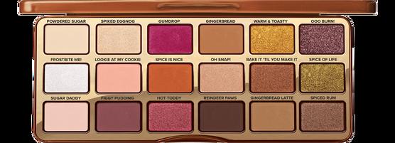 Новинка! Палетка теней для век Too Faced  Gingerbread Spice Eye Shadow Palette