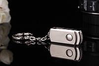 Металлическая флешка-USB накопитель флешка-брелок16гб., фото 1