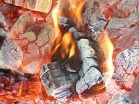Древесный уголь для барбекю
