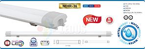 Світильник вологозахищений IP65 1262x78mm SMD LED 36W 6400K 3300Lm 170-265v NEHIR-36 HOROZ, фото 2