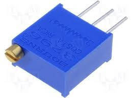 Резистор подстроечный 3296W 101(100R)