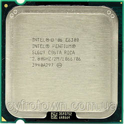 Процесор Intel E6300 S775 2x2.80 GHz
