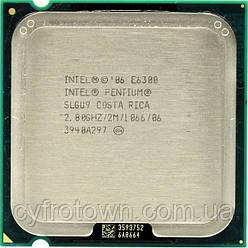 Процессор Intel E6300 S775 2x2.80 GHz