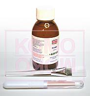 Биопедикюр биоманикюр набор: биогель 120мл, кисть с синтетическим ворсом, европемза