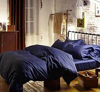 Шикарные комплекты постельного белья евро размера из сатина (однотонные)