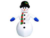 Снеговик надувной 240 см