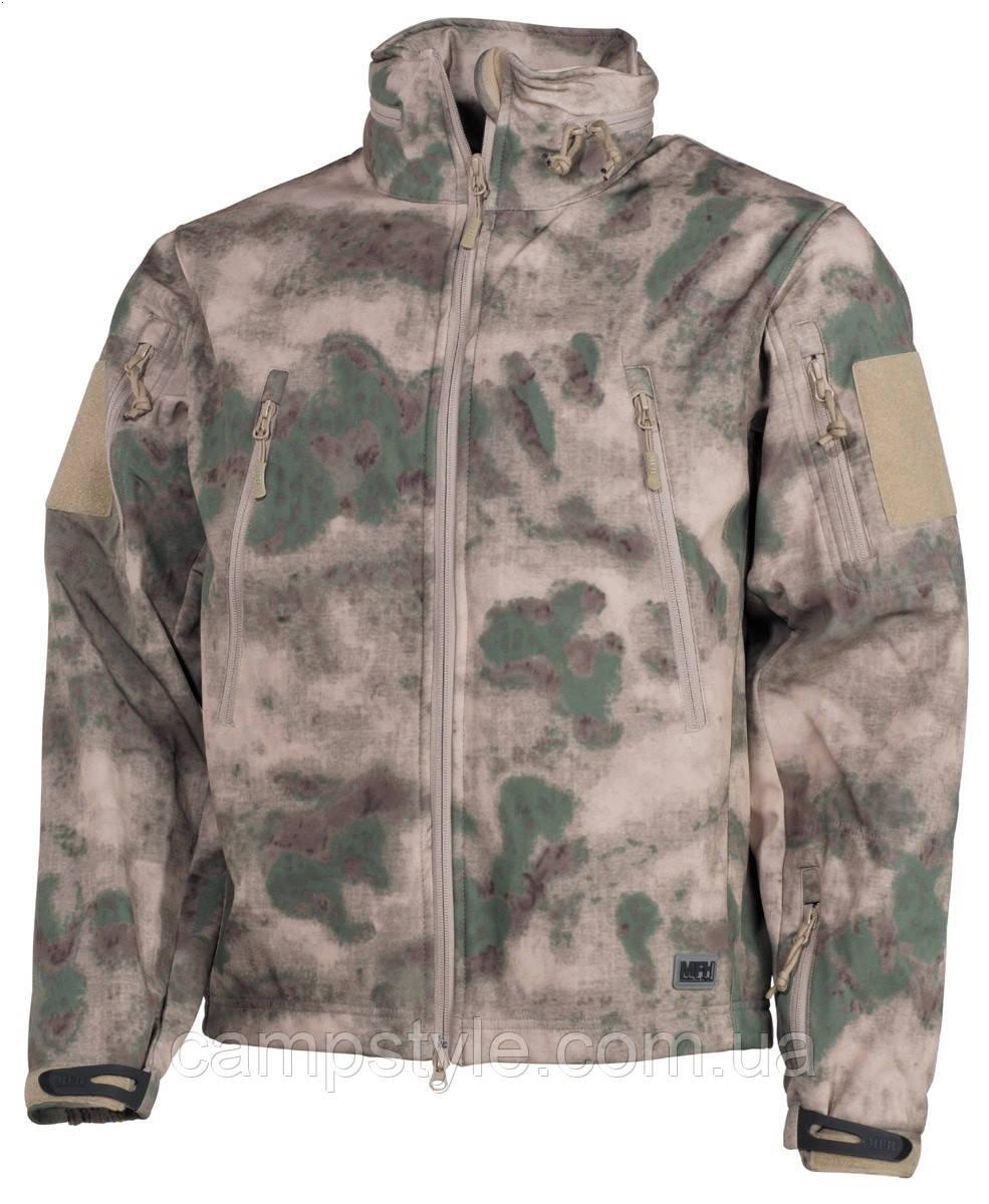 Куртка-ветровка  MFH SoftShell Scorpion Camo Green
