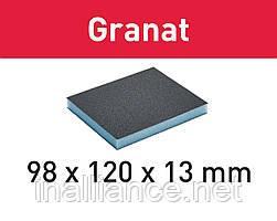 Губка шлифовальная 98 мм x 120 мм x 13 мм Р220 GR/6 Festool 201114
