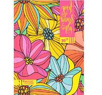 """Блокнот """"YES"""" А5 линия """"Floral vibes"""" 64 листа 151363"""