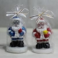 Дед Мороз с подарком / Свеча Новогодняя 6x3 см