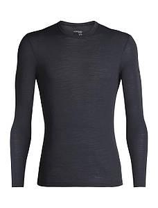 Термофутболка мужская Icebreaker 175 Everyday Long Sleeve Crewe Black L (104 483 001 L)