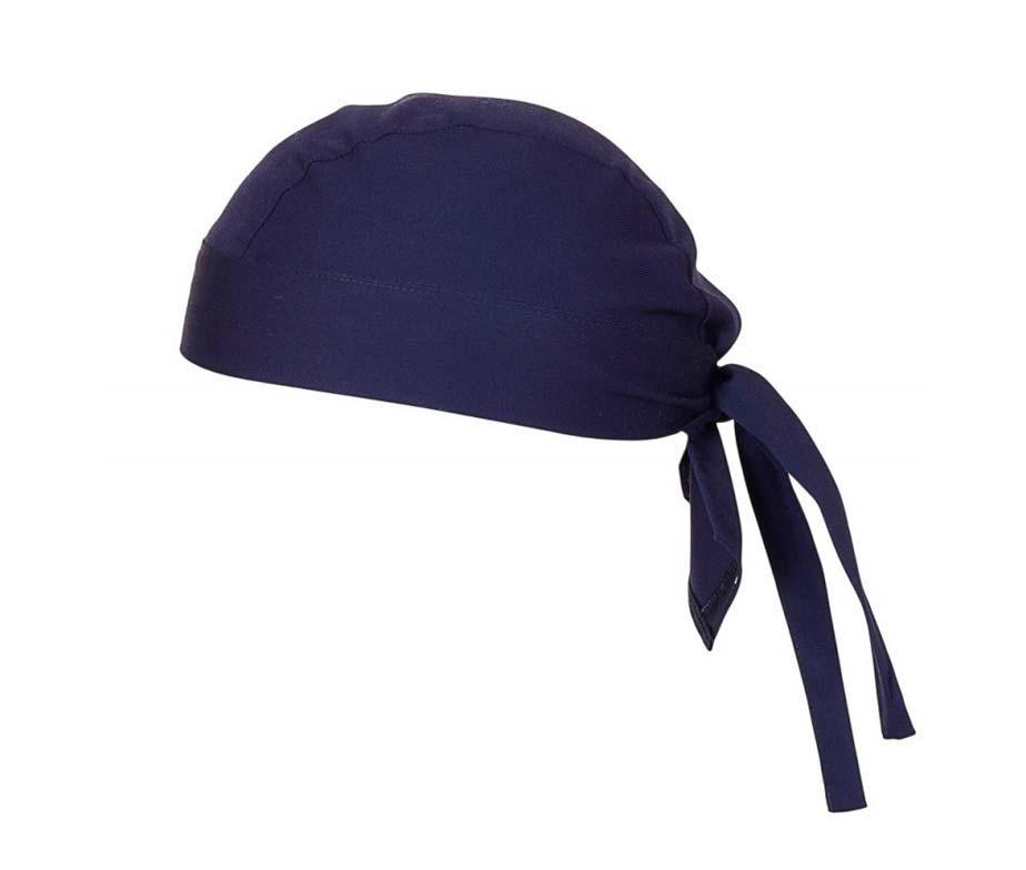 Шапка - бандана для повара темно-синяя Atteks - 1635