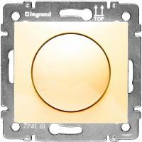 Светорегулятор поворотный 40-400W (слон. кость)
