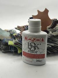 Профессиональная краска 25 мл для кожи Bsk color , Italia