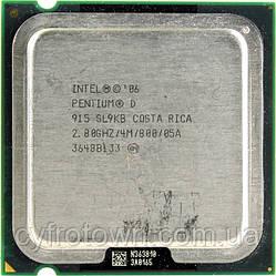 Процесор Pentium D 915 2x2.8 GHz S775
