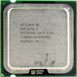 Процессор Pentium D 915 2x2.8 GHz S775