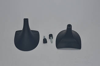 Каблук женский 14039 Kadir, 5.5 см, 37-38, чёрный мат