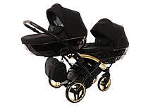 Дитяча коляска для двійнят Junama Diamond Duo Slim S-Line, фото 1