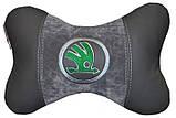 Автомобильная подушка подголовник с логотипом, фото 3