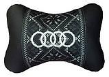 Автомобильная подушка подголовник с логотипом, фото 4