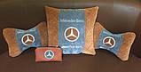 Автомобильная подушка подголовник с логотипом, фото 5