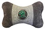 Автомобильная подушка подголовник с логотипом, фото 8