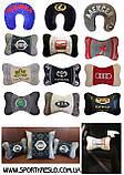 Автомобильная подушка подголовник с логотипом, фото 10