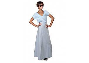 Комплект блуза юбка на запах, фото 3