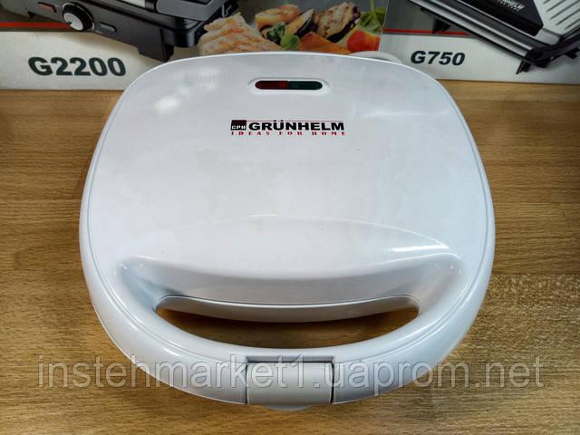 Сэндвичмейкер Grunhelm GSM 800 (800 Вт) в интернет-магазине