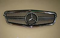 Решетка радиатора Mercedes E-Сlass W212 (2009-2013), фото 1