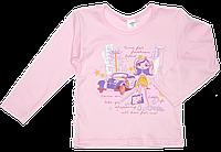 Дитячий реглан, довгий рукав, кнопки на плечі, інтерлок (бавовна), ТМ Вікторія, Україна, 92 р.