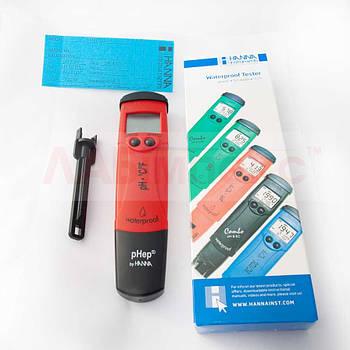 HI 98127, рН-метр/термометр pHep 4 (2 -16 pH, влагонепроницаемый)