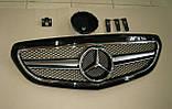 Решетка радиатора на Mercedes E-Сlass W212 с 2013 года, фото 2