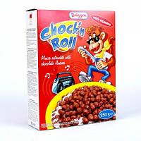 Сухой завтрак Bruggen Chock'n Roll поджаренная кукуруза с шоколадом, 250 г 1111165 Брюгген
