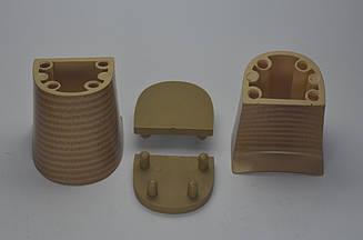 Каблук женский 13051 Kadir, 5.5 см, бежевый