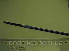 Крючок для вязания цельнометаллический размер № 4