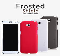 Чехол для LG Optimus G Pro Lite D686 - Nillkin Super Frosted Shield (пленка в комплекте)