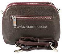 Распродажа! Женский кожаный клатч Karya 0810-243 бордовый Турция, фото 3