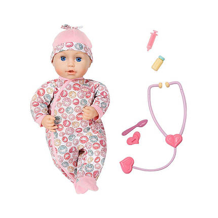 Інтерактивна лялька Zapf Baby Annabell Доктор 43 см з аксесуарами 701294, фото 2