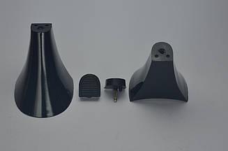 Каблук женский 14051 Kadir, 6.5 см, 37-38, чёрный лак