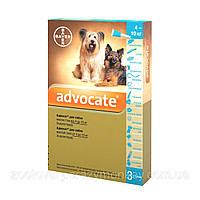 ADVOCATE (АДВОКАТ) краплі від бліх для собак вагою від 4 до 10 кг, 1 піпетка