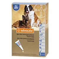 ADVOCATE (АДВОКАТ) капли от блох для собак весом свыше 25 кг, 1 пипетка