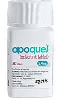 APOQUEL АПОКВЕЛ 5,4 мг 20 таблеток для лечения дерматитов различной этиологии, сопровождающихся зудом, у собак