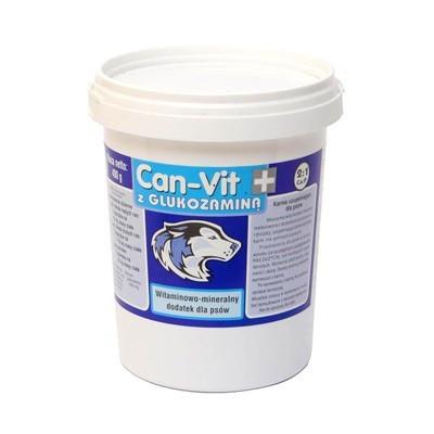 CAN VIT (Кан-вит) синий, пищевая добавка с глюкозамином для взрослых собак, кормящих сук, 400 г