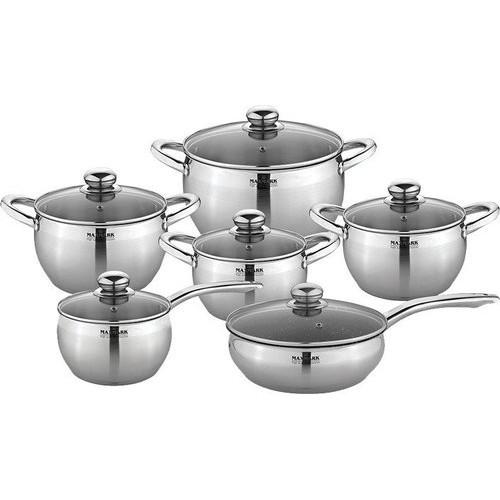 Набор посуды MAXMARK MK-APP7512A (12 пр.)